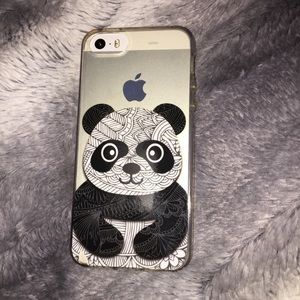 Geometric Panda Iphone5s case